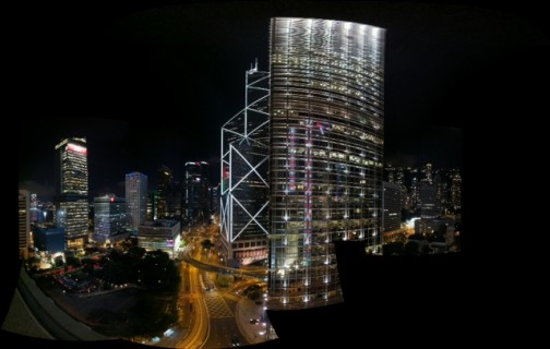 Autostitch of the CC view