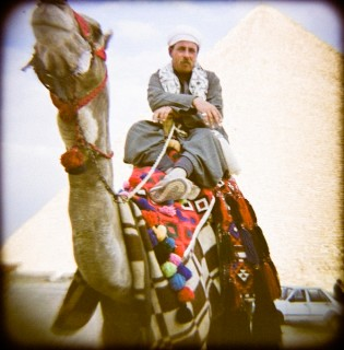 Camel Rider doing Blue Steel look from Zoolander