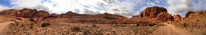 Wadi Rum panorama, IPhoneography, autostitch