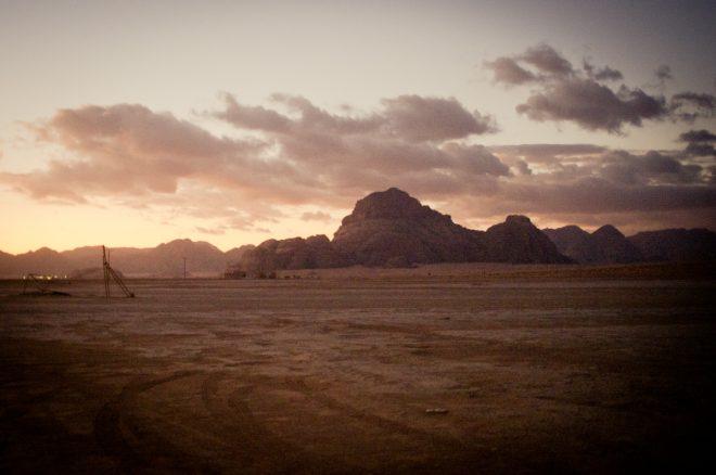 Captains camp sunrise