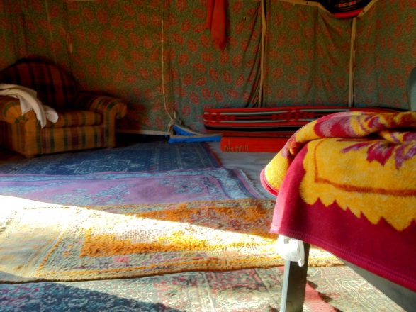 iPhoneography Bedouin tent charm