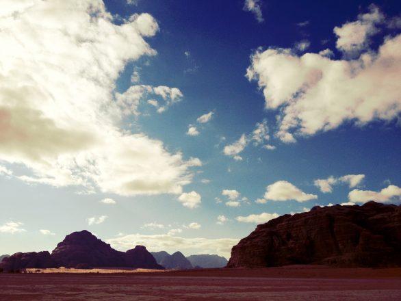 Wadi rum morning, iPhoneography