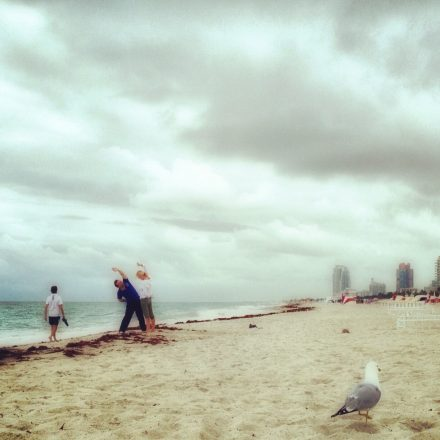 Cloudy Morning in South Beach
