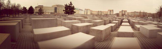Autostitch panorama of Holocaust Memorial