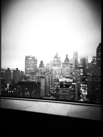 City views... From the shower