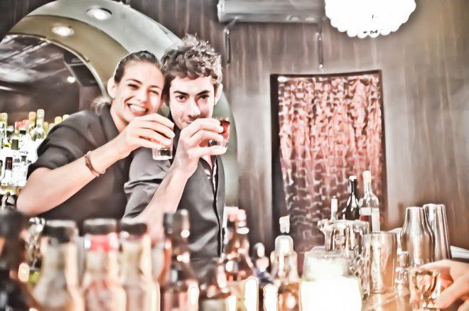 Door 74 bartenders Fuji X100