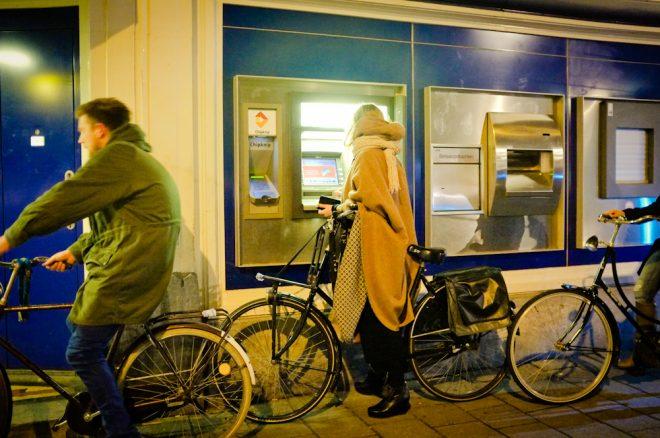 Drive Thru ATM Amsterdam. Fuji X100