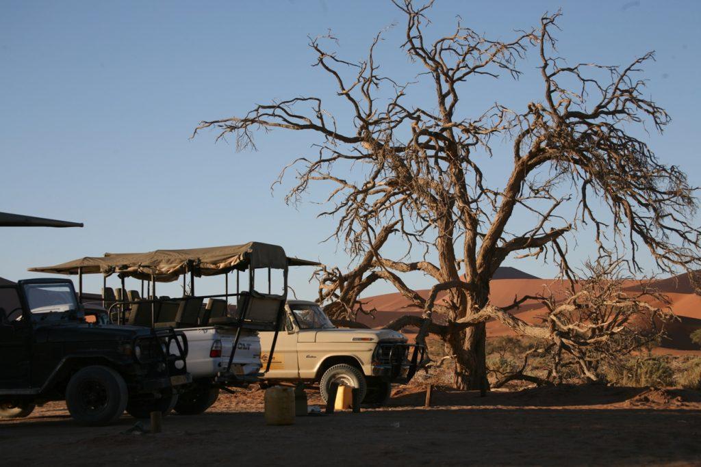 Namibia jeeps
