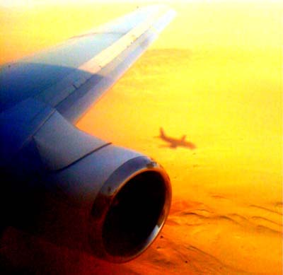 Namibia plane