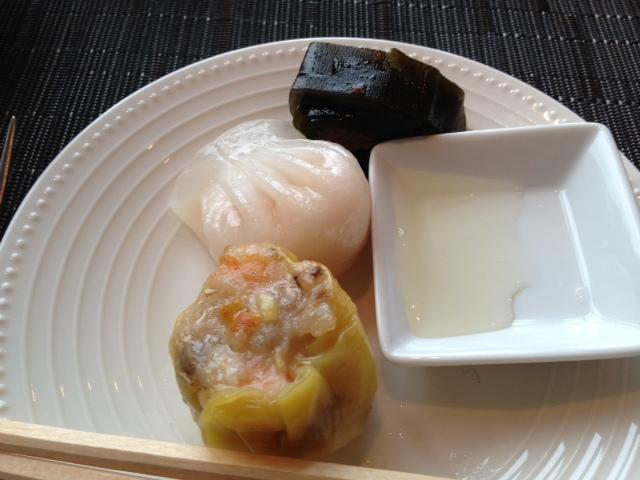 Dim-sum breakfast at the Mandarin Oriental, Tokyo