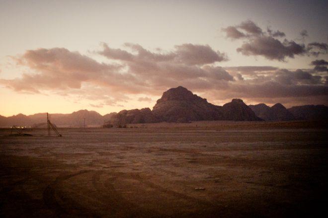Wadirum desert sky