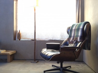 A mid-century modern chair in Room #5