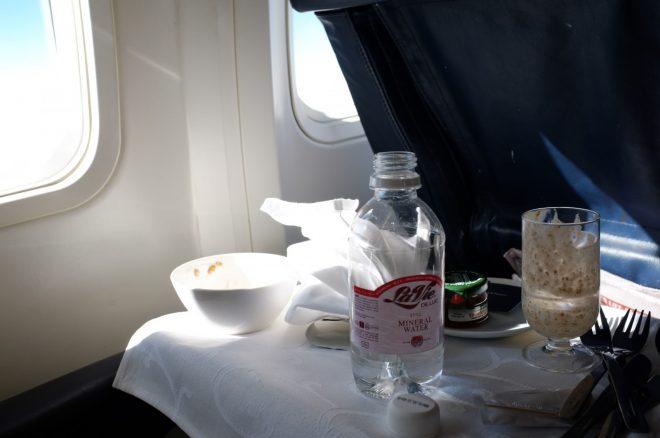 Breakfast on British Airways, JNB-Port Elizabeth South Africa