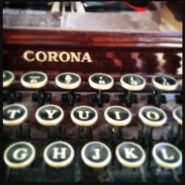 Mojave Sands-vintage typewriter