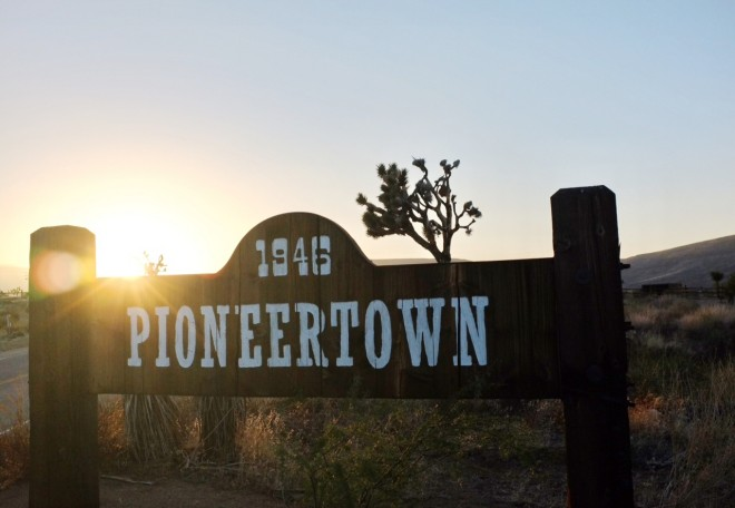 Pioneertown sign
