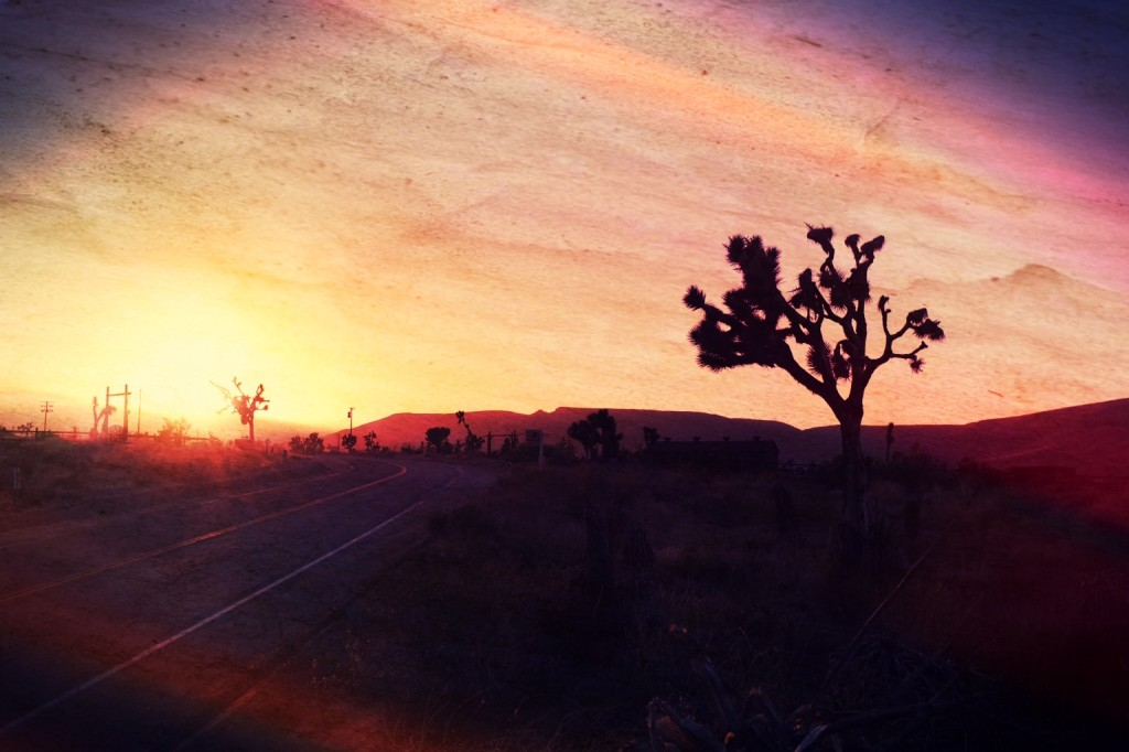 Sunset in Pioneertown