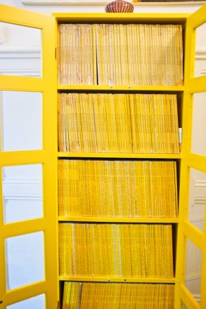 National geographic bookcase