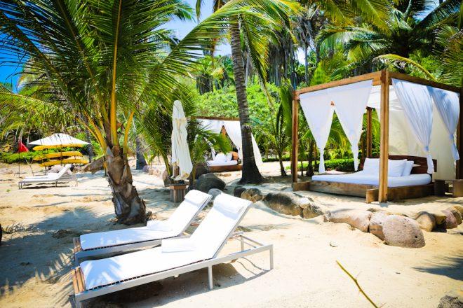 Imanta beach chairs beds