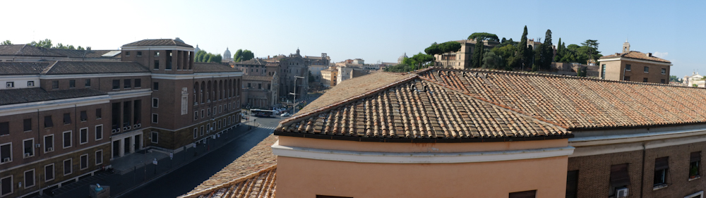 Rooftops viewed from 47Hotel