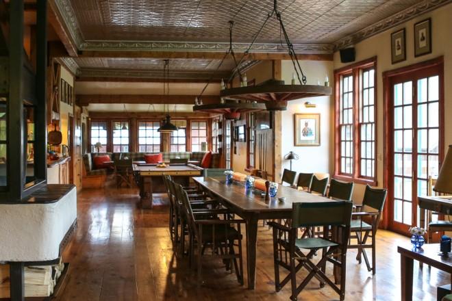 The saloon is social hub of Dunton Hot Springs