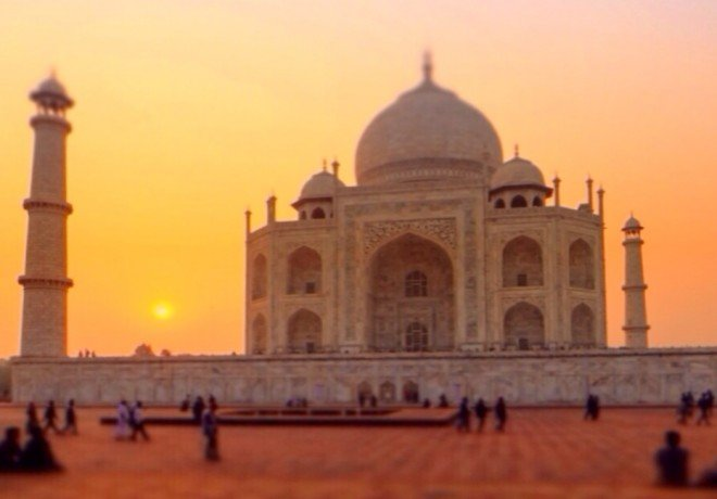 Taj Mahal Pictures Scenic Travel Photos: Ediface Complex In India: The Taj Mahal, A Photo Essay
