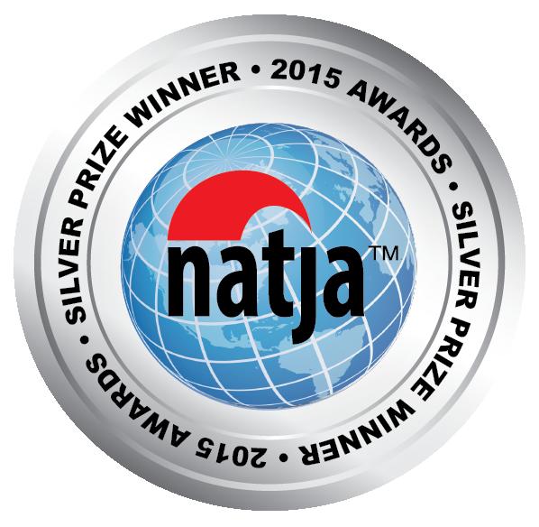 2015 NATJA Awards - Silver Seal