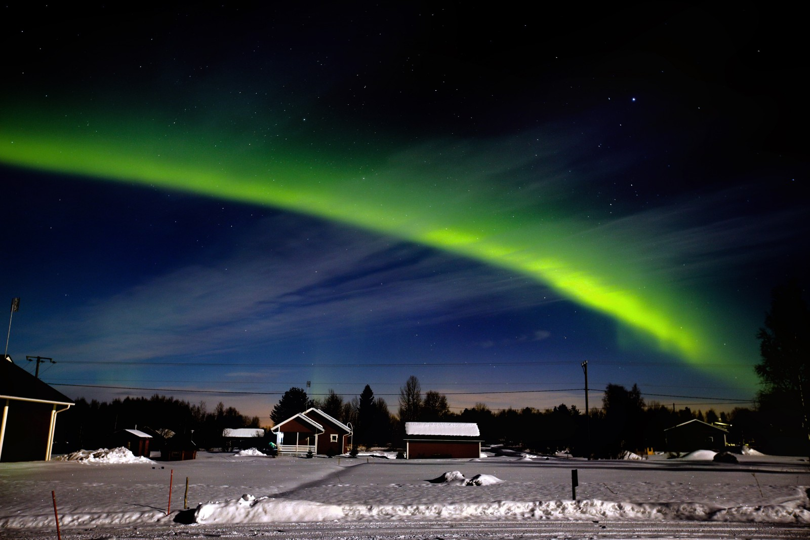 Night Photography in Stockholm and Finnish Lapland (and